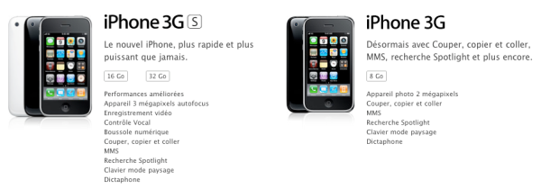 iPhone 3G / 3G S